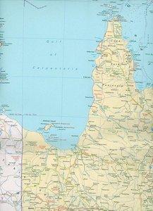 KuF Australien 1 : 4 000 000. Politische Karte