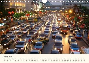 Cityscapes - America & Asia (Wall Calendar 2015 DIN A4 Landscape