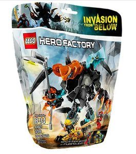 LEGO® Hero Factory 44021 - Splitter Beast vs. Furno & Evo