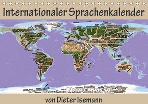 Internationaler Sprachenkalender (Tischkalender 2017 DIN A5 quer