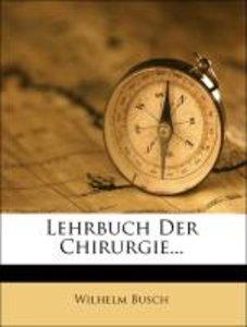 Lehrbuch Der Chirurgie...