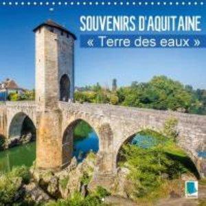 """Calvendo: Souvenirs D'aquitaine - """" Terre Des Eaux """""""