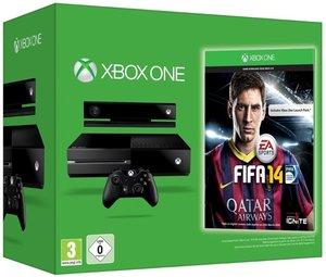 Xbox One Konsole 500 GB inkl. FIfa 14 (DLC)