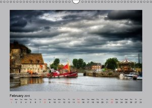 Normandy and the flowery coast (Wall Calendar 2015 DIN A3 Landsc