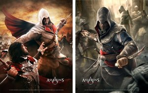 Assassins Creed - Wallscroll / Banner - 2er Set (Vertikal)