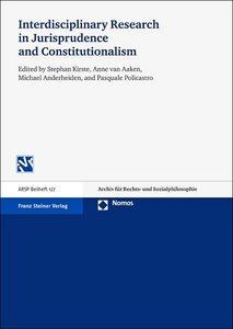 Interdisciplinary Research in Jurisprudence and Constitutionalis
