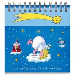 Yoga für Weihnachtsengel Adventsaufsteller Geschenkbuch