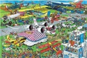 Jumbo Spiele 01488 - Jan van Haasteren: Flugschau, 1500 Teile