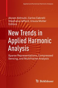 New Trends in Applied Harmonic Analysis