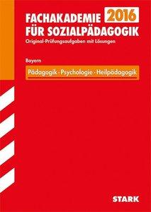 Fachschule / Fachakademie Bayern / Fachakademie für Sozialpädago