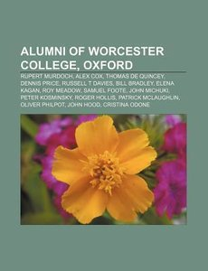 Alumni of Worcester College, Oxford