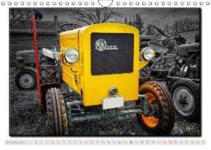 Oldtimer - tractors (Wall Calendar 2015 DIN A4 Landscape)