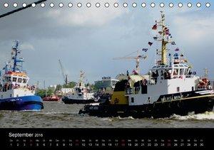 Hamburg Hafengeburtstag (Tischkalender 2016 DIN A5 quer)