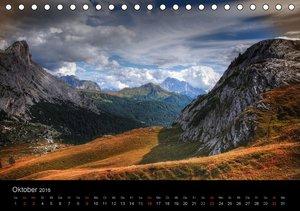 Mystische Dolomiten (Tischkalender 2016 DIN A5 quer)