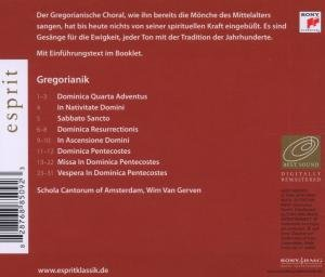 Esprit/Gregorianischer Choral