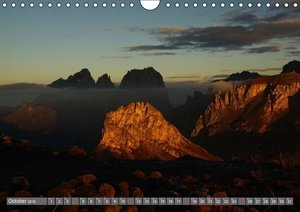 The Dolomites Unesco World Heritage (Wall Calendar 2015 DIN A4 L