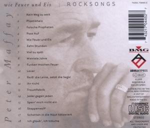 Wie Feuer und Eis-Rocksongs