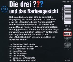 Die drei ??? 031 und das Narbengesicht. (drei Fragezeichen). CD
