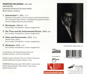 Orchestra-Feldman Edition 11