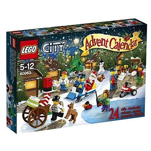 LEGO ® City 60063 - Adventskalendar