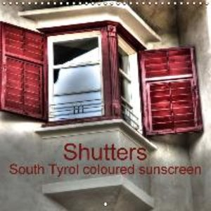 Shutters South Tyrol coloured sunscreen (Wall Calendar 2015 300