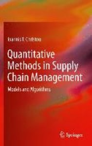 Quantitative Methods in Supply Chain Management