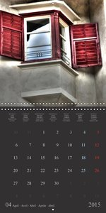 Shutters South Tyrol coloured sunscreen (Wall Calendar 2015 300