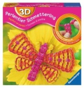 3D-Perlentier Schmetterling