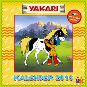 Yakari - Friendz Wandkalender 2016