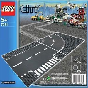 LEGO® City 7281 - Kurve/T-Kreuzung