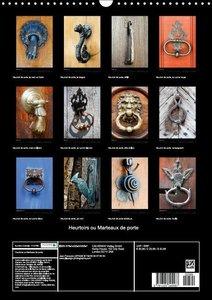 Heurtoirs ou Marteaux de porte (Calendrier mural 2015 DIN A3 ver