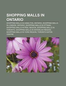 Shopping malls in Ontario