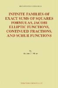 Infinite Families of Exact Sums of Squares Formulas, Jacobi Elli