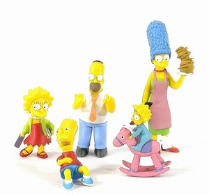 The Simpsons - Sammelfiguren, 5tlg.