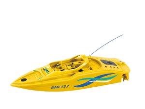 Revell Control 24125 - Mini Boot BMC 151, gelb, Länge ca. 15 cm