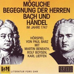 Mögliche Begegnung Der Herren Bach Und Händel 1747