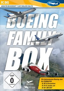 Flight Simulator X - FSX BOEING FAMILY BOX für Flight Simulator