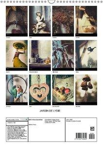 Le jardin de Lydie (Calendrier mural 2015 DIN A3 vertical)