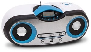 CD-Radio CD54, Top-Lader, weiss/blau