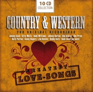 Country & Western-200 Greatest Love Songs