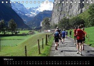 Eppele, K: Jungfrau-Marathon (Tischkalender 2015 DIN A5 quer