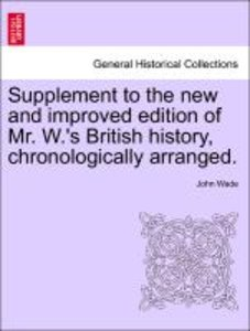 Supplement to the new and improved edition of Mr. W.'s British h