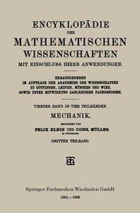 Encyklopädie der Mathematischen Wissenschaften mit Einschluss ih