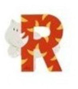 Sevi 81618 - Buchstabe: Rhinozeros, R