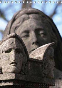 Père-Lachaise, der älteste Friedhof von Paris (Tischkalender 201