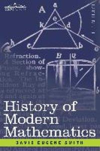 History of Modern Mathematics