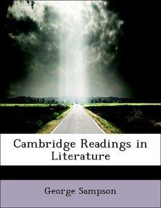 Cambridge Readings in Literature