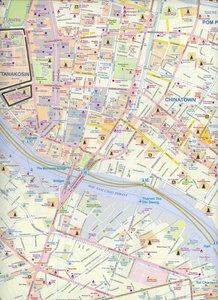 Bangkok Stadtplan 1 : 10 000