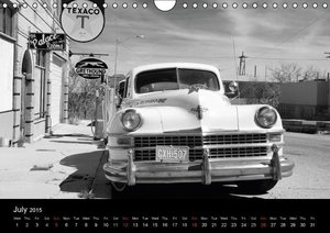 Rust in Peace - Classic US Cars (Wall Calendar 2015 DIN A4 Lands