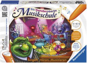 Ravensburger 00555 - tiptoi®, Die monsterstarke Musikschule